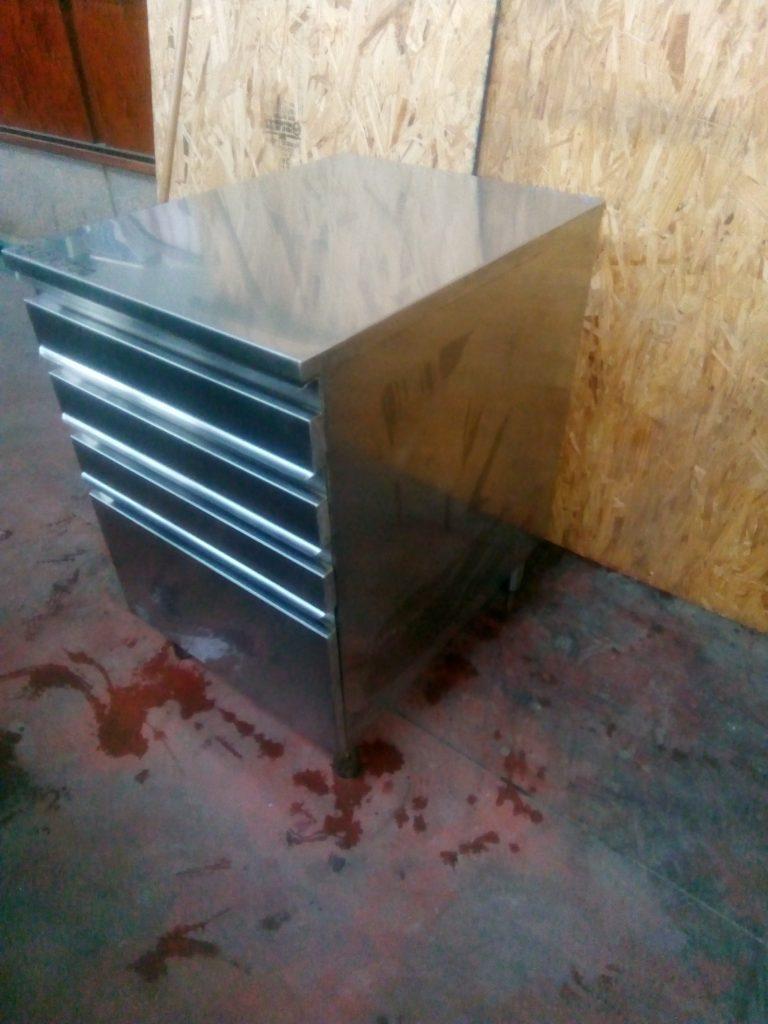 Cassettiera in acciaio