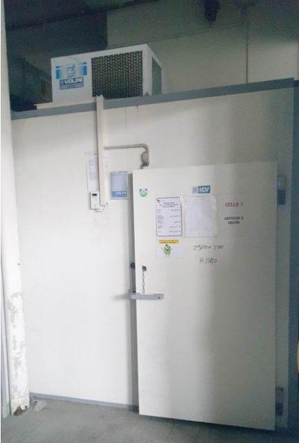 Cella frigo ventilata