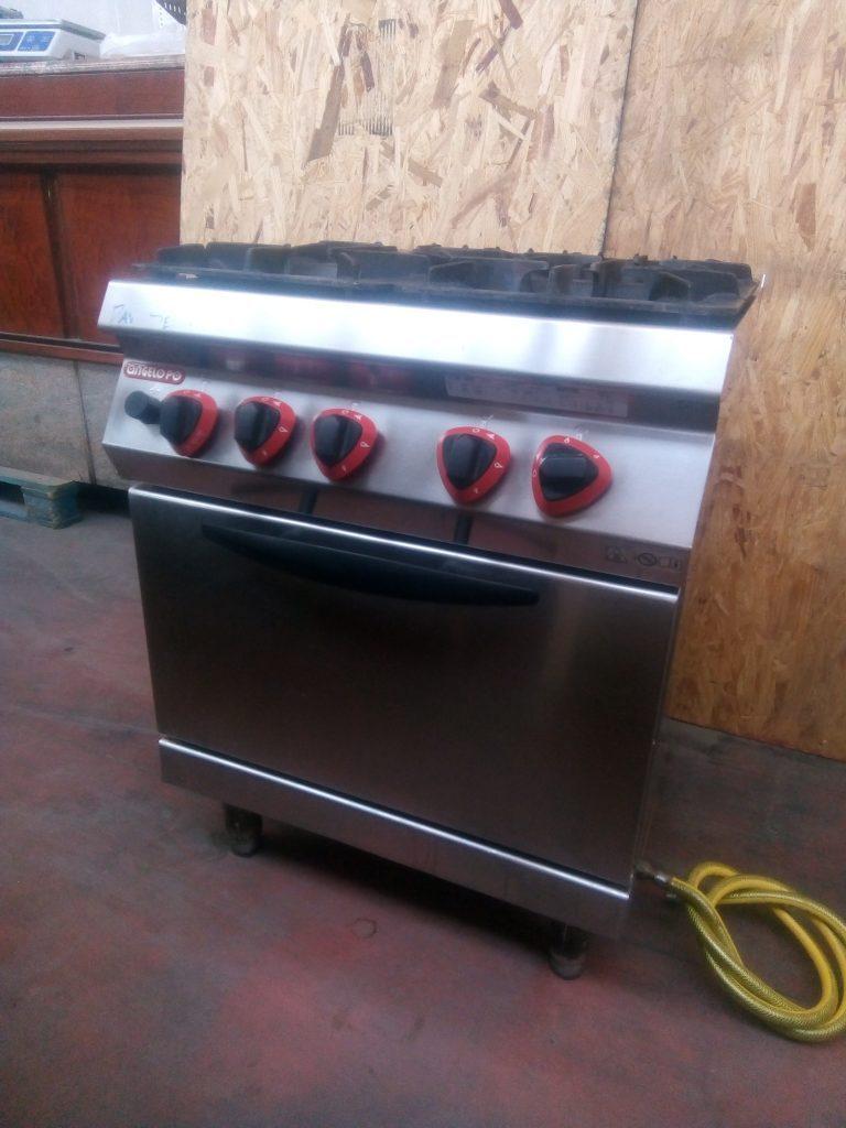 Cucina gas usata