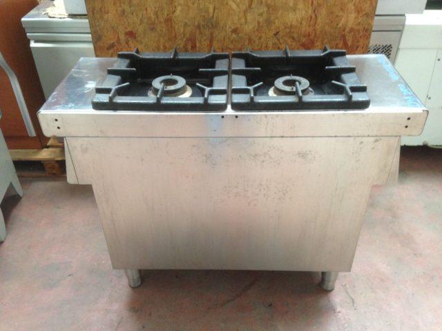 Cucina 2 fuochi a gas