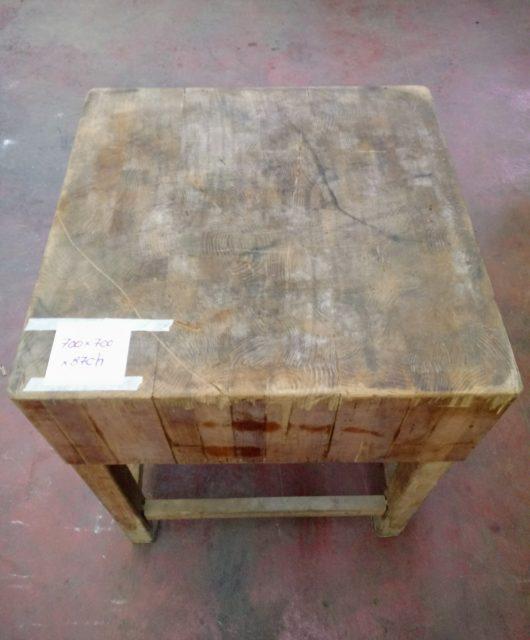 Ceppo in legno usato