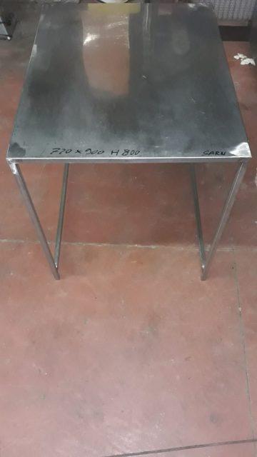 Tavolo acciaio usato