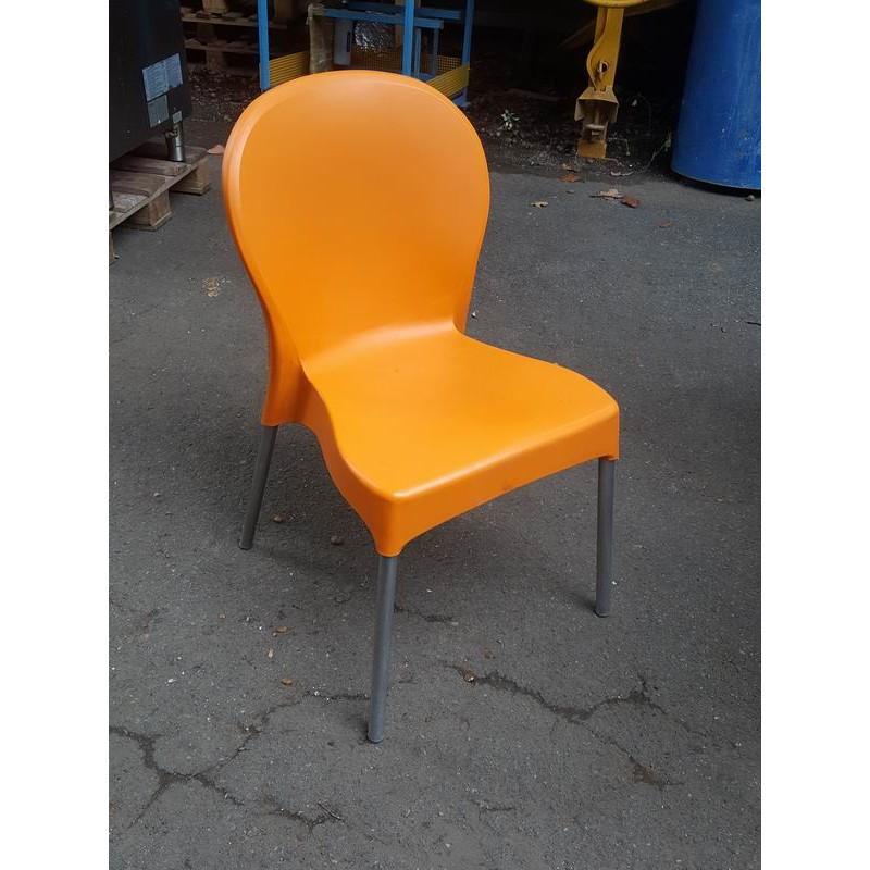 Sedie da esterno 1 impilabili usate