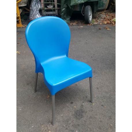 Sedie usate da esterno impilabili usate