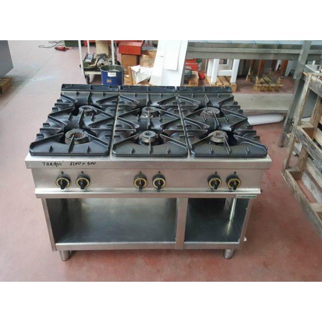 Cucina a gas 6 fuochi usata 2