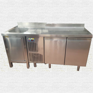 Banco frigo con lavello usato usato
